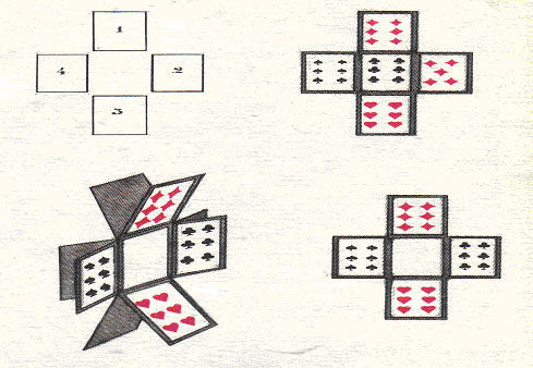 Фокус с пятью картами