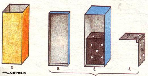 Описание фокуса волшебный кубик