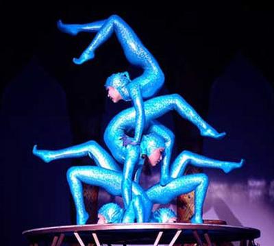 выступление артистов бурятской цирковой школы