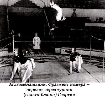 АГДГОМЕЛАШВИЛИ семья цирковых артистов, гимнасты на турниках.