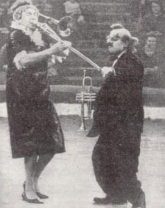 Елена Амвросьева и Георгий Шахнин